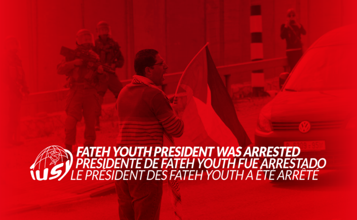Hassan Faraj, Fateh Youth President arrested in Palestine