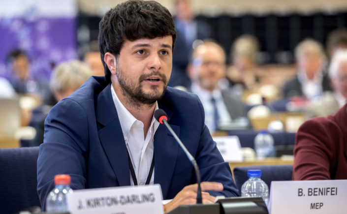 Brando BENIFEI - Question to Mogherini on the arrest of Fateh Youth President by Israeli Forces